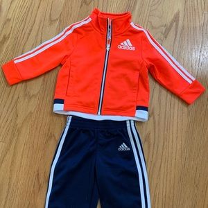 New without tags-9 month Adidas outfit